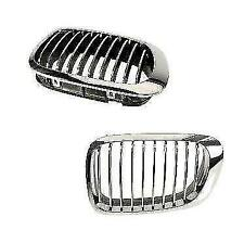 NEW OEM BMW E46 Front Radiator Kidney Chrome Grille Left 51138208685