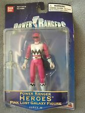 Power Rangers Heroes Lost Galaxy Pink Series 10 NEW ON CARD