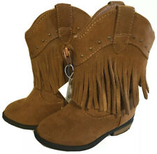 NEW Girls Carters Baby Toddler Size 5 6 8 9 or 10 Ankle Cowboy Boots Fringe