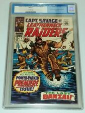 CAPTAIN SAVAGE AND HIS LEATHERNECK RAIDERS #1 CGC 9.4 OW JAN 1968 SGT FURY (SA)