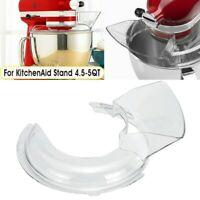 4.5-5QT Bowl Lid Pouring Shield Tilt Head For Kitchen Aid Stand Mixer Replace
