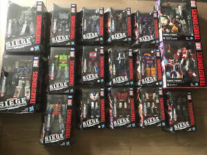 Transformers Siege War for Cybertron LOT OF 17 REFRAKTOR COG CROSSHAIRS More NEW