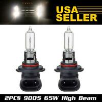 2pcs 9005 HB3 Headlight High Beam Halogen Bulb 12V 65W Xenon White