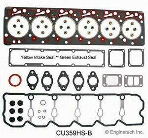 Enginetech Head Gasket Set For 98-02 Dodge Ram 2500 3500 5.9L 24V CU359HS-B