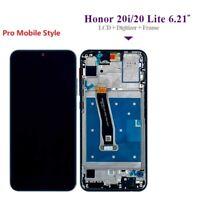 VITRE TACTILE ECRAN LCD + chassis  ORIGINAL oem HUAWEI HONOR 20 LITE