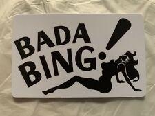 Bada Bing Magnet Strip Club Sopranos Tony Soprano Gandolfini Mafia Mob Mobster