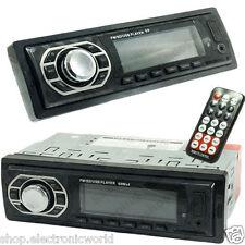 AUTORADIO FM STEREO MP3 LETTORE USB SD/MMC AUX WMA IN INGRESSO RCA RADIO