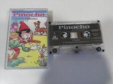 PINOCHO CUENTOS INFANTILES LOS MUSICOS DE BREMEN - CINTA CASSETTE
