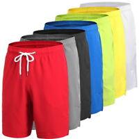 Mens Sports Loose Fitness Shorts Drawstring Basketball Boxing Shorts Fast-Dry
