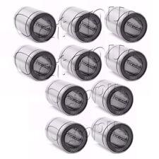10PC Premium LM30 UU Metal Shielded  Linear Bush Ball Bearing 30x45x64mm
