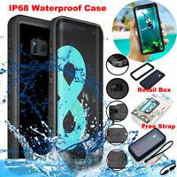 Samsung Galaxy S9 Note8 S8 Waterproof Case 6.6ft Underwater Shockproof Dirtproof