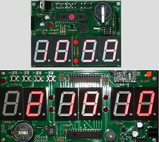 LED 7-Segment Real Time Clock, Date and Temp PIC Kit