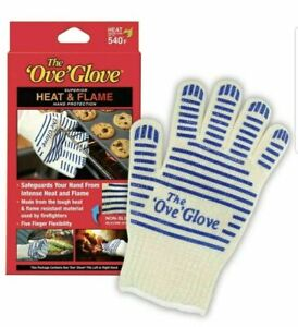 The Ove Glove Hot Surface Handler Superior Oven compatible with R / L Hand 540°F