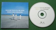 Manic Street Preachers This Is My Truth Tell Me Yours inc Tsunami + CD