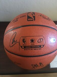 Golden State Warriors 2016/17 NBA Champions Team Signed Ball Bas Auth 22 Autos