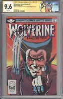Wolverine #1 CGC 9.6 SS SIGNED Chris Claremont & Joe Rubinstein - Custom Label 2