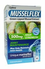 Musselflex Green Lipid Mussel Extract High Strength Joint Care 500mg 90 Tablets