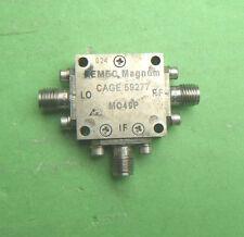 1pcs Used Good Magnum MO49P 4.0-8.0GHz 19dBm SMA RF Double Balanced Mixer #E02J
