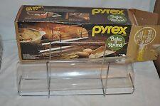 Vintage PYREX CORNING BAKE A ROUND BREAD TUBE RACK  EX COND  USA