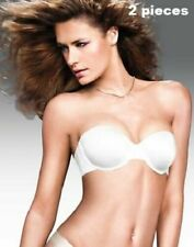2 pieces: Maidenform Custom Lift Strapless Bra Convertible Strap and Lace Thong