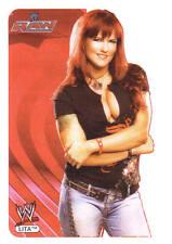 LITA  edibas RARE 2006 German See Thru Plastic WWE Lamincard s #048