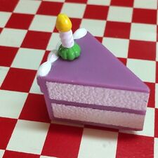 Realistic Artificial Faux Fake Food Replica CAKE SLICE 3D MAGNET