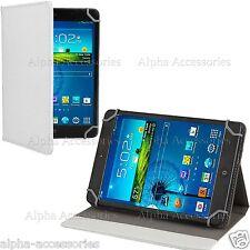 """Soporte Universal Cuero Plegable tamaño folio Funda para 7"""" Tab ,PC, Android"""