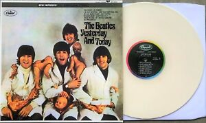 "THE BEATLES BUTCHER COVER ""YESTERDAY & TODAY"" LP Beige COLORED VINYL NEW"