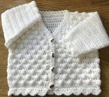 Baby Crochet Pattern for a Bobble Cardigan in DK (Sizes: Birth - 6 years) (1029)