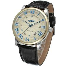 WINNER Automatic Mechanical Movement Skeleton Roman Watch Men Date Wrist Watches
