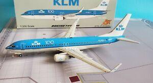 Jfox Models 1:200 Boeing 737-800 Klm Ph-Bxk' 100th logo 'Mit Stand JF-737-8-010