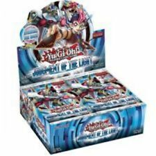 Yugioh Judgment Of The Light English Booster Box  24ct. Packs 1st Edition Rare