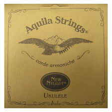 AQUILA UKULELE STRINGS SOPRANO 4U REGULAR TUNING NYLGUT KEY OF C SUPERIOR SOUND