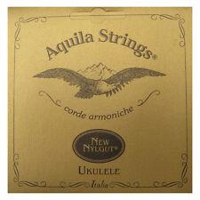 Aquila Ukulele Strings Soprano 4U Regular Tuning Cordes Key of C sonore supérieure