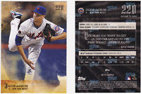 Jacob deGrom New York Mets 2018 Topps 220 Harper second to none 11 SP /5196