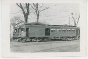 1939 Sacramento Northern Railroad Streetcar #129 CA Freight REA Traction Trolley
