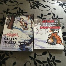 2 X BILL WATERSON, CALVIN AND HOBBES. THE AUTHORITATIVE/ SNOW GOONS0836218221