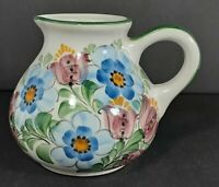 Vintage Handpainted Small Pitcher