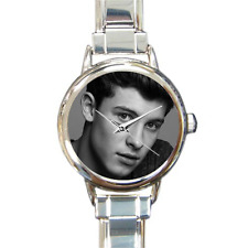 NEW Shawn Mendes Watch Italian Charm Watch Bracelet Great Gift for Fans!
