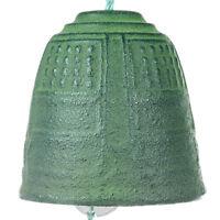 Verde Campana Hierro Fundido Japonés Carillón De Viento