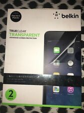 Belkin iPad Air 2 True Clear Screen Protector *New/ Sealed* 2 Pack Easy to apply