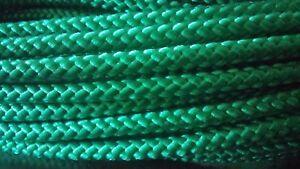 "3/16"" x 300 ft. Diamond Braid MFP anchor / utility Rope hank . Green."