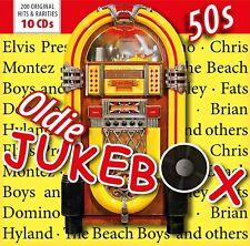 OLDIE JUKE-BOX VOLL.2, ua: BEACH BOYS, ELVIS, JHONNY CASH,FATS DOMINO 10 CD NEUF