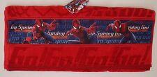 Original Marvel Spider-Man Boys Kids Red Towel NWT
