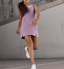 Nike Nsw Tech Fleece Girls Dress 848192-565 Orchid size M 10-12 years NEW