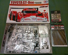 Tamiya Toyota GT-One TS020 Le Mans + Scale Motorsport parts photoetch decals