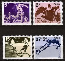 Polen 2862-65 **, Medaillengewinner Olympiade 1980