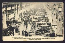 cpa Rare PARIS Grand Palais EXPO de l'AUTOMOBILE du CYCLE et des SPORTS Car Show