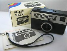 Pallux 100x Camera 126F With Box, Strap, and Instructions New 126 Format Holga