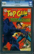 Showcase 72 CGC 9.0 Silver Age Key DC Comic Top Gun IGKC L@@K